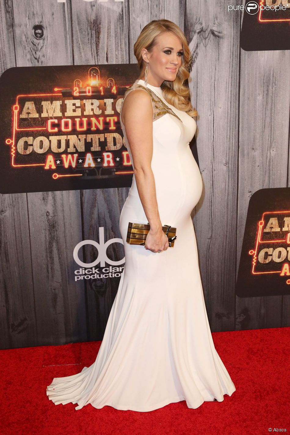 Carrie Underwood attending the 2014 American Country Countdown Awards on FOX at the Music City Center on December 15, 2014 in Nashville, Tennessee, USA. Photo by Curtis Hilbun/AFF/ABACAPRESS.COM16/12/2014 - Nashville