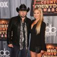 Jason Aldean and Brittney Kerr attending the 2014 American Country Countdown Awards on FOX at the Music City Center on December 15, 2014 in Nashville, Tennessee, USA. Photo by Curtis Hilbun/AFF/ABACAPRESS.COM16/12/2014 - Nashville