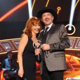 Kix Brooks presents Reba McEntire with the NASH Icon Award on the 2014 American Country Countdown Awards on FOX at the Music City Center on December 15, 2014 in Nashville, Tennessee, USA. Photo by Frank Micelotta/PictureGroup/ABACAPRESS.COM16/12/2014 - Nashville