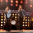 Hillary Scott, Charles Kelley, and Dave Haywood of Lady Antebellum perform on the 2014 American Country Countdown Awards on FOX at the Music City Center on December 15, 2014 in Nashville, Tennessee, USA. Photo by Frank Micelotta/PictureGroup/ABACAPRESS.COM16/12/2014 - Nashville