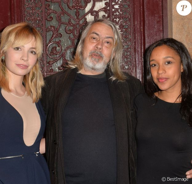 """Alix Bénézech, Jean-Pierre Delépine et Aude Forget - Conférence de presse du film """"Que justice soit nôtre"""" de Jean Pierre Delépine, au Nox à Paris, le 17 décembre 2014."""