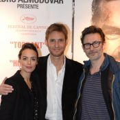 Bérénice Bejo avec son amoureux Michel Hazanavicius face aux 'Nouveaux Sauvages'