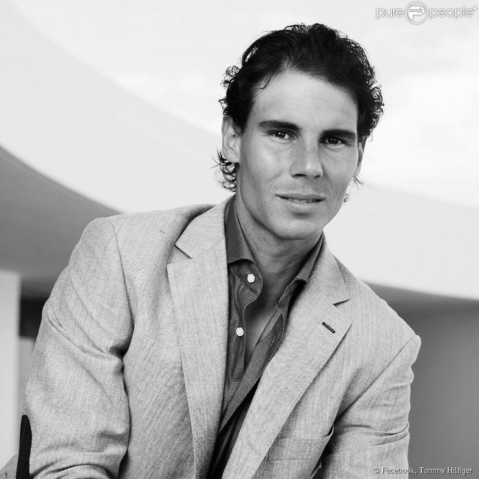 """Rafael Nadal est le nouvel ambassadeur des lignes sous-vêtements et """"Tailored"""" de Tommy Hilfiger. Décembre 2014."""