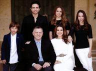 Rania de Jordanie : Glamour toujours pour une superbe photo de famille