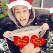 Noël : Miley, Ellen, Fergie... Les cartes de voeux les plus insolites !