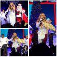 Mariah Carey passe les fêtes de Noël à Aspen, partageant des photos de ses vacances avec ses fans le 25 décembre 2014.