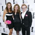 Heather McDonald, Sarah Colonna et Brad Wollack lors de la soirée '2012 E! Television Network UpFront', au Gotham Hall de New York le 30 avril 2012