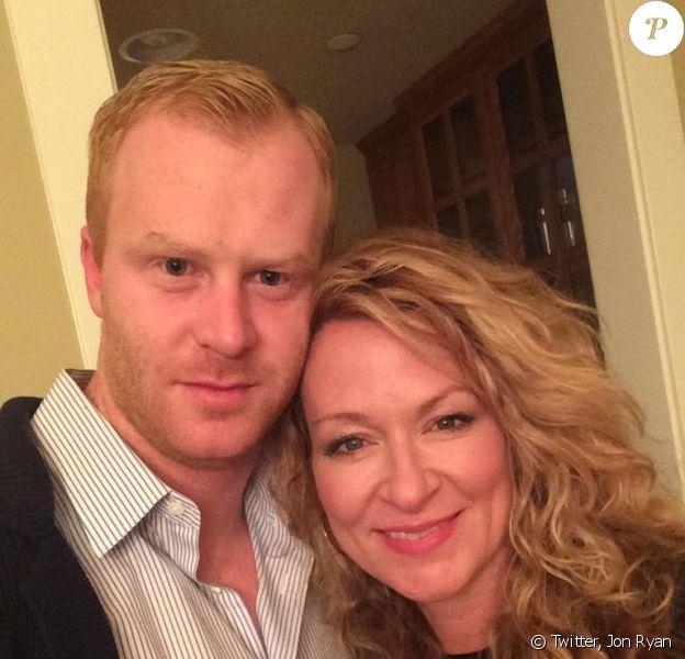 Sarah Colonna et Jon Ryan - photo publiée sur le compte Twitter de Sarah Colonna le 26 novembre 2014