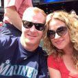 Sarah Colonna et Jon Ryan - photo publiée sur le compte Twitter de Jon Ryan le 26 mai 2014