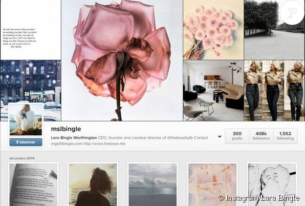 Lara Bingle est devenue Lara Bingle Worthington sur son compte Instagram