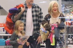 Tori Spelling : Une famille à nouveau unie, après une année catastrophe...