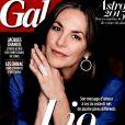 Lio en couverture de Gala, le 31 décembre 2014