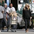 Ali Larter enceinte fait ses courses chez Whole Foods à West Hollywood, le 5 janvier 2015.