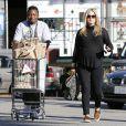 Ali Larter enceinte fait ses courses chez Whole Foods à West Hollywood, le 5 janvier dernier