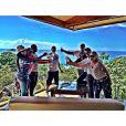 """""""Nouvel an 2015 au soleil du Costa Rica, en lune de miel, pour Ludacris et Eudoxie, just married !"""""""
