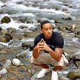 Ludacris pensif en janvier 2015, quelques jours après son mariage éclair avec Eudoxie