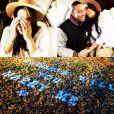 """""""Photomontage publié sur Instagram de la demande en mariage de Ludacris à Eudoxie le 24 décembre 2014. La noce a eu lieu le jour même !"""""""