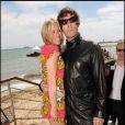 Nicole Appleton et Liam Gallagher à Cannes, le 14 mai 2010.