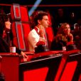 Les quatre coachs dans The Voice 4, le samedi 10 janvier 2015, sur TF1