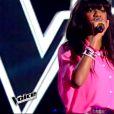 Awa Sy dans The Voice 4, le samedi 10 janvier 2015, sur TF1
