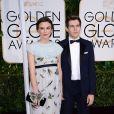 Keira Knightley et James Righton aux Golden Globe Awards 2015.