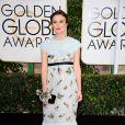 Keira Knightley (en Chanel) enceinte - 72e cérémonie annuelle des Golden Globe Awards à Beverly Hills, le 11 janvier 2015.