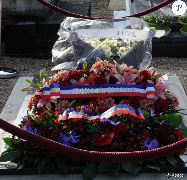 Cabu a été enterré au cimetière de Châlons-en-Champagne, le 14 janvier 2015.