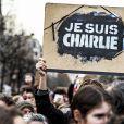 Marche Républicaine pour Charlie Hebdo place de la République à Paris le 11 janvier 2014.