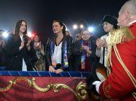 Stéphanie de Monaco et ses filles Pauline et Camille, belles du cirque acclamées