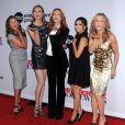 """Vanessa Williams, Brenda Strong, Marcia Cross, Eva Longoria et Felicity Huffman au lancement de la dernière saison de """"Desperate Housewives"""", à Los Angeles, le 21 septembre 2011."""
