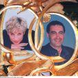 Lady Di et Dodi Al-Fayed, hommage en 1998