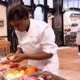 Fatimata Amadou - Emission  Top Chef 2015  sur M6.  Prime  du 26 janvier 2015.