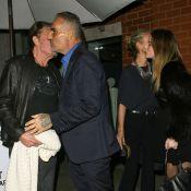 Johnny Hallyday et Laeticia : Dîner avec Christian Audigier et sa fiancée