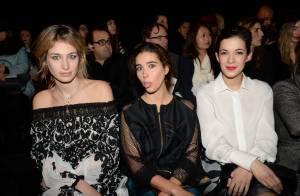 Fashion Week: Pauline Lefèvre, Mélanie Doutey et Sonia Rolland, trio radieux