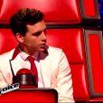 Mika dans The Voice 4, sur TF1, le samedi 31 janvier 2015