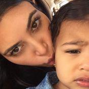 Kim Kardashian: Maman tendre avec North, stylée pour applaudir Kanye West