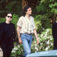 Isabelle Adjani et Daniel Day-Lewis à Los Angeles le 23 mars 1990.