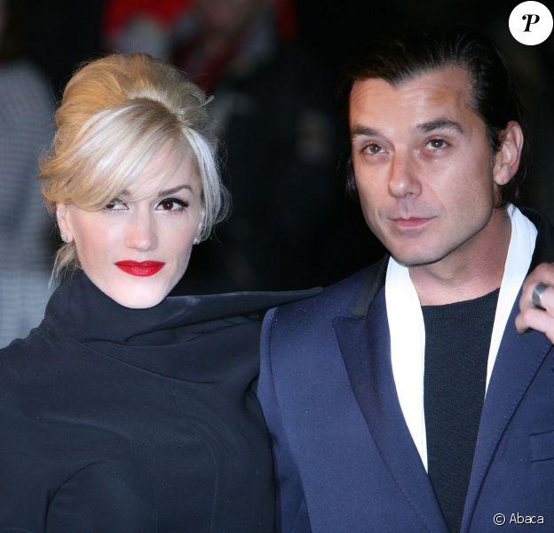 Gwen Stefani et Gavin Rossdale à Londres, le 15 décembre 2009.
