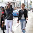 Kendall Jenner et Ireland Baldwin photographiées à New York le 17 décembre 2014