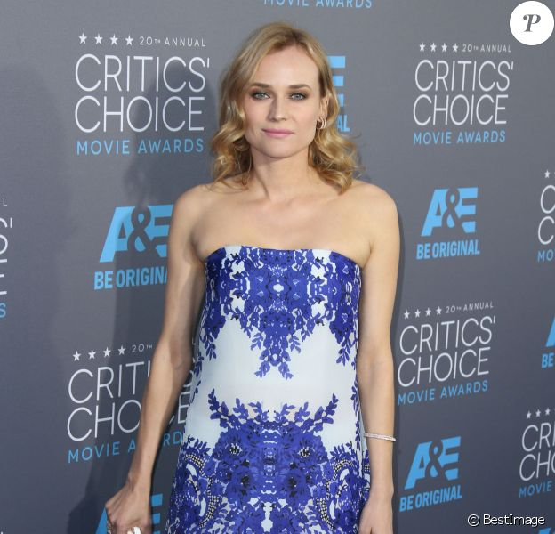 """Diane Kruger - 20e soirée annuelle des """"Critics Choice Movie Awards"""" à Hollywood. Le 15 janvier 2015."""