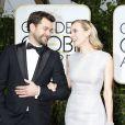 Diane Kruger et son compagnon Joshua Jackson - La 72e cérémonie annuelle des Golden Globe Awards à Beverly Hills, le 11 janvier 2015.