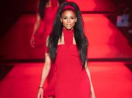 Fashion Week : Ciara, ravissant mannequin au côté de Miss Univers