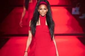 Fashion Week : Ciara, ravissant mannequin au côté de Miss Univers