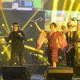 Rachid Taha et Catherine Ringer - Soirée des 30ème Victoires de la Musique au Zénith de Paris, le 13 février 2015.13/02/2015 - Paris