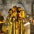 Sylvie Hoarau et Aurélie Saada, du groupe Brigitte - Soirée des 30ème Victoires de la Musique au Zénith de Paris, le 13 février 2015.13/02/2015 - Paris