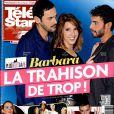 Magazine Télé Star en kioques le 16 février 2015.