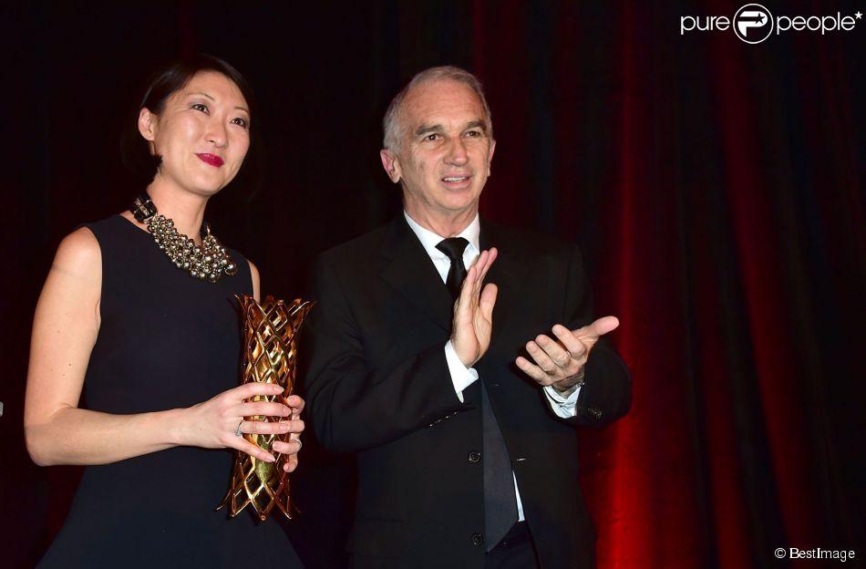 Alain terzian et fleur pellerin d ner des producteurs et - Hotel georges v paris prix chambre ...