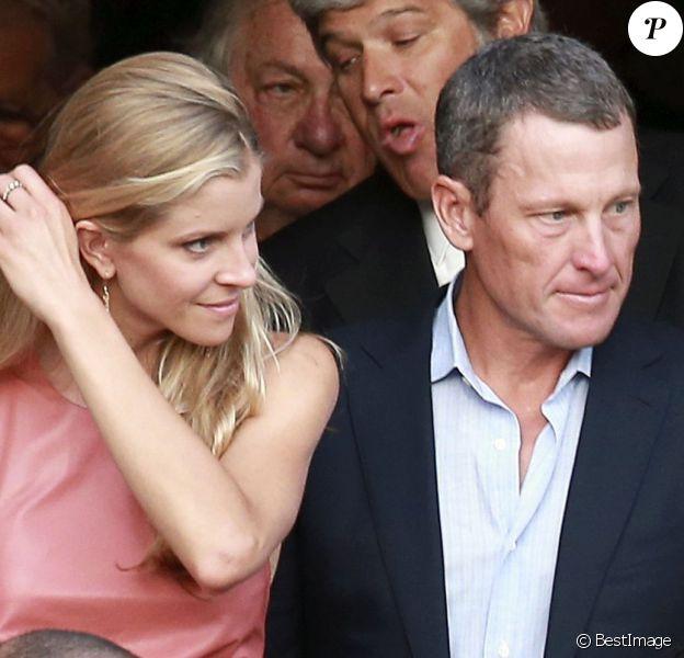 """Lance Armstrong et Anna Hansen - Mariage de Lake Bell et Scott Campbell a la """"Marigny Opera House"""" à la Nouvelle-Orleans, le 1er juin 2013."""