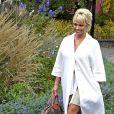 Un homme a été arrêté, nu et confus après avoir mis le feu dans la chambre d'hôtel de l'actrice Pamela Anderson à Stockholm, en Suède le 23 octobre 2014.