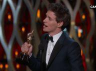 Oscars 2015 : Eddie Redmayne, sacré meilleur acteur, laisse exploser sa joie